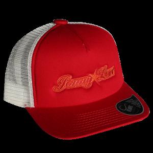 Truckercap red/white